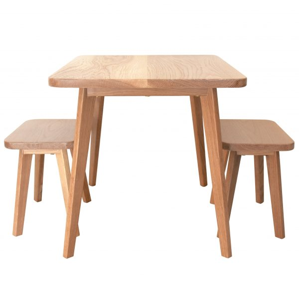 Tiny Table tiny table & stools - raw sunshine coast