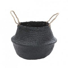 Olli Ella black belly basket, small