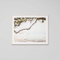 Ocean Swing framed print, 101x81cm