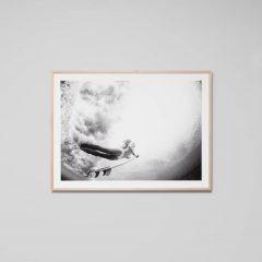 Dive in, Warranbrooke print, 114 x 85 cm