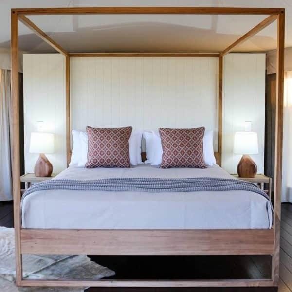 Dani four poster bed « RAW Sunshine Coast - Custom Made Furniture ...