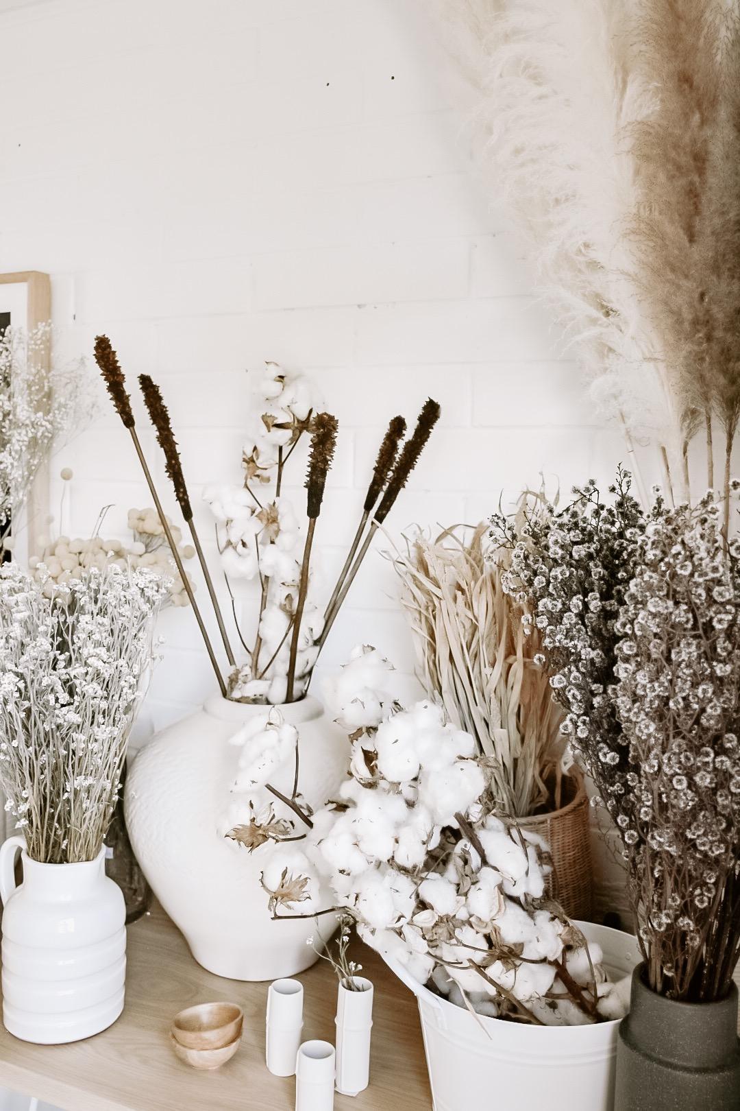 cotton stem sunshine coast florist interiors